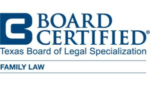 nikki hudman is certified by the texas board of legal specialization in family law